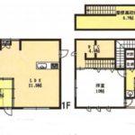 3680万円、3LDK、土地面積173.43m2、建物面積132.49m2(間取)