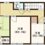 1880万円、4DK、土地面積133.89m2、建物面積92.34m2 1階(間取)