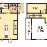 3050万円、3LDK、土地面積106.16m2、建物面積95.63m2(間取)
