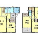 2480万円、4LDK、土地面積106.07m2、建物面積94.19m2(間取)
