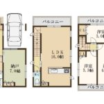 2280万円、3LDK+S(納戸)、土地面積60.78m2、建物面積91.17m2(間取)