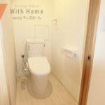 室内(2021年1月)撮影 新品交換済 清潔感のあるトイレ(内装)