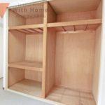 12帖洋室の収納スペース たっぷり収納できます♪(内装)