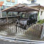 現地(2021年7月)撮影 カーポート付きの駐車場で雨の日も安心です