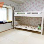 陽当たりの良い洋室 かわいいクロスで子供部屋にオススメです!(内装)