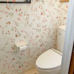 清潔感のあるトイレ 2か所あり便利です(内装)