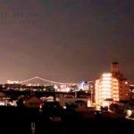 現地からの眺望(2021年7月)撮影 美しい夜景が望めます☆